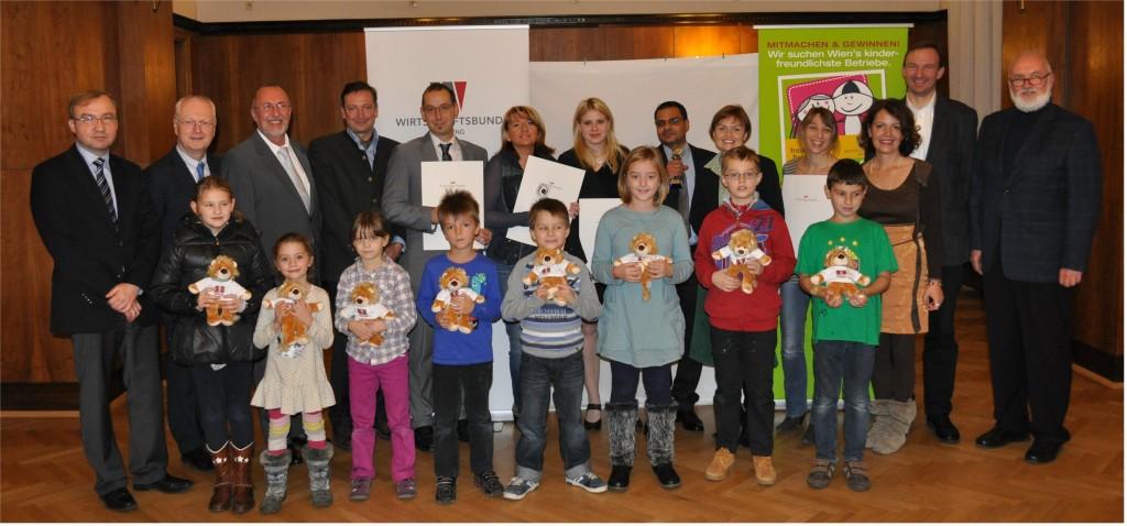 Kinderfreundlicher Betrieb 2013